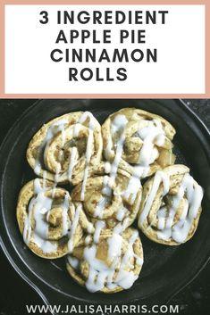 Delicious Apple Pie Cinnamon Rolls