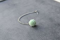 Mint Mum Single Silver Chain Cartilage Earring by oflovelythings, $6.00
