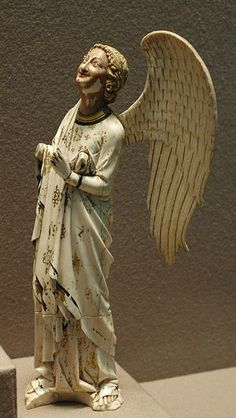File:Angel ivory polychrome,Paris,middle of the cent. Louvre Museum ~ ღ Skuwandi Medieval World, Medieval Art, Louvre Museum, Sacred Art, Christian Art, Middle Ages, Carving, Photos, Fine Art