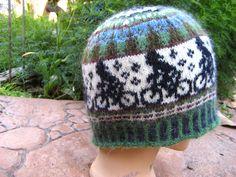 Ravelry: Mountain bike beanie by Sandra Jäger - Emmit Knitting Projects, Knitting Patterns, Hat Patterns, Crochet Hooks, Knit Crochet, Fair Isle Pattern, Fair Isle Knitting, Bandeau, Knitted Hats