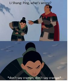 This made me laugh a bit harder than intended. mulan memes are the best Funny Disney Jokes, Disney Memes, Disney Quotes, Stupid Funny Memes, Funny Relatable Memes, Disney Princess Memes, Funny Stuff, Disney Channel, Arte Disney