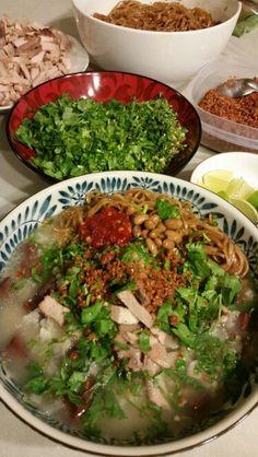 Pha-Baw cheam chruuk... Rice porridge.