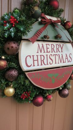 Merry Christmas Sign Decor