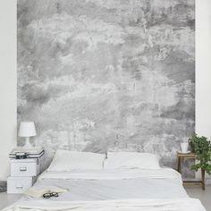 wandgestaltung in beton-optik - schÖner wohnen-farbe | schöner ... - Wandfarbe Ideen Quadrat