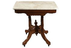 19th-C. Eastlake-Style Parlor Table