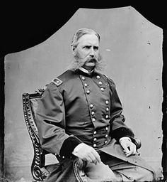 General C.C. Augur, Military Commander of the Department of Texas, photograph taken between 1860-1865, part of Brady Civil War Collection, Library of Congress