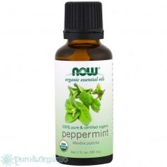 Now Foods, Organic Essential Oils, Peppermint, 1 fl oz - iHerb Cinnamon Oil, Vitamins For Kids, Peppermint Leaves, Natural Moisturizer, Organic Essential Oils, Carrier Oils, Massage Oil, Pure Products, Serif Font