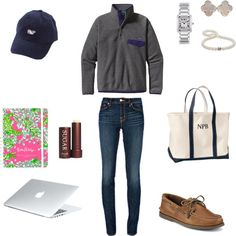 """""""Sunday Studying"""" by liz-h19 ❤ liked on Polyvore"""