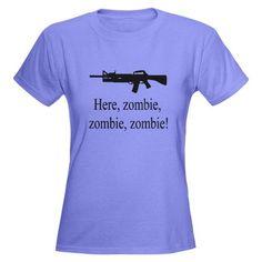 here, zombie, zombie, zombie