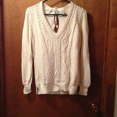 Banana Republic Sweaters - Ivory Banana Republic Long sleeved sweater. Size L. $50