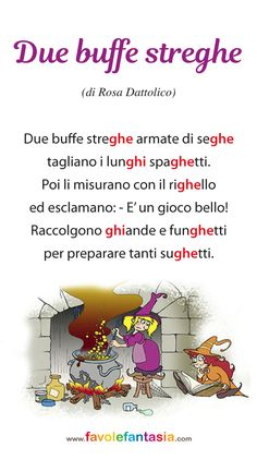 Filastrocca GHI GHE 2 Italian Grammar, Italian Language, Baby Corner, Parental, Learning Italian, Study Skills, Home Schooling, School Days, Montessori