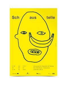 Bureau Mirko Borsche – Schaustelle poster and signage