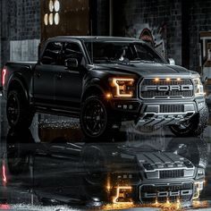 Gorgeous ford fusion - read up on our article for much more good ideas! Black Ford Raptor, Ford Raptor Truck, Ford Raptor Lifted, Lifted Chevy Trucks, Ford Pickup Trucks, Ford Trucks For Sale, Country Trucks, Black Truck, Custom Muscle Cars