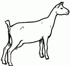 Boer Goat Silhouette | Clipart Panda - Free Clipart Images ...