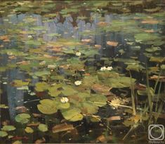 Шевчук Василий. Царевна - Лягушка-2 Landscape Art, Landscape Paintings, Lotus Art, Summer Painting, Cool Landscapes, Nature Paintings, Water Lilies, Painting Inspiration, Flower Art