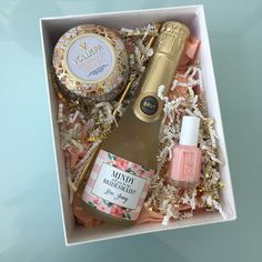 Will You Be My Bridesmaid - Maid of Honor Proposal Idea - custom champagne labels by Label with Love - www.labelwithlove.etsy.com