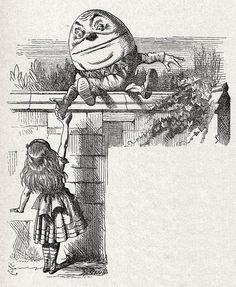 Humpty Dumpty's Philosophy of Language in 'Through the Looking Glass'