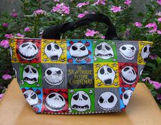 NEW ARRIVAL Feb NIGHTMARE BEFORE CHRISTMAS JACK HANDBAG makeup bag COOL