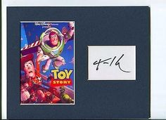Tom Hanks Disney Voice Toy Story Woody Signed Autograph Photo Display @ niftywarehouse.com #NiftyWarehouse #Toy #Story #Movie #ToyStory #Pixar