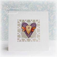 Peppermint Pattys Papercraft: A little Love Birdie!