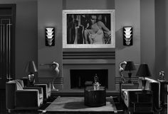 """Art Deco tribute to """"Our Dancing Daughters"""" in Academy Award winner, """"The Artist""""."""