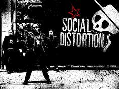 Social Distortion - So Far Away - Garage Rock Radio Social Distortion is an American punk rock band formed in 1978 in Fullerton, California. The band currently consists of vocalist and guitarist Mike Ness, g Kinds Of Music, Music Love, Music Is Life, Rock Music, Mike Ness, Sick Boy, Rock Radio, Social Distortion, Rock Groups