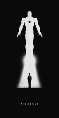 Superhero silhouettes make stunning use of negative space | Illustration | Creative Bloq