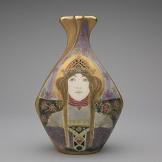 "sfomuseum:  "" Art Nouveau graphic artists portrayed women as enchanting, otherworldly maidens and their elaborate portrayal of female tresses helped distinguish the design style. From decorative arts to paintings and illustrations, women's hair serves..."