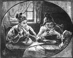 an illustration from Scribner's Monthly, 1877 Reading Tea Leaves - Magic Words & Symbols Spotted in the Wild Reading Tea Leaves, Tea Reading, Word Symbols, Tea Riffic, Fortune Telling Cards, Season Of The Witch, Cartomancy, Fortune Teller, Magic Words