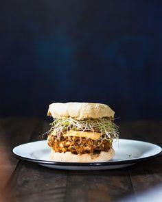 Tasty Teriyaki Vegan Gluten-Free Veggie Burgers | A Couple Cooks
