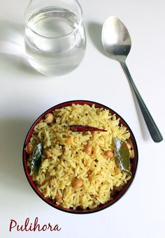 andhra pulihora recipe also known as chinta pandu pulihora recipe or ava petina pulihora. Rice seasoned with tamarind paste and other basic ingredients