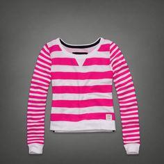 Kenzie Sweatshirt | Abercrombie