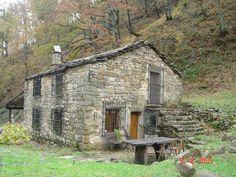 Cabaña Pasiega en Valle del Pas, Cantabria. Spain