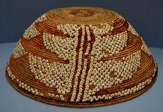 Ohlone basket, Oakland Museum of California