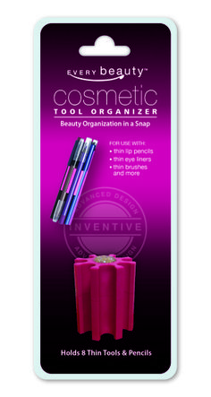 @The Every Drop Beauty Spatula Cosmetic Tool Organizer