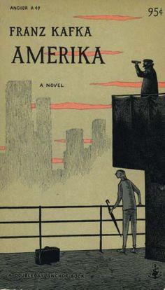 Amerika: Kafka — 1955 — Anchor A49