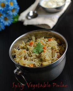 spicy-vegetable-pulao-recip by Raks anand, via Flickr