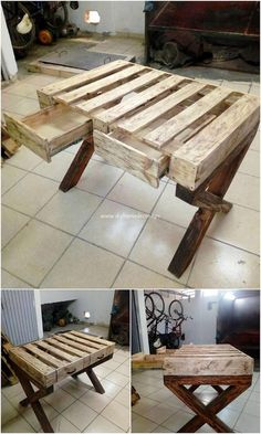 Amazing Projects Made with Old Wood Pallets: The more you will search out for the used wood pallet DIY ideas for your house adornment, the more interesting and countless options will come.
