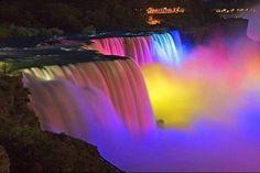 Visit Niagra Falls at night  if it's not Frozen Over... @jimmy9708  @jadechinesemassage