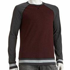 Tony Hawk Colorblock Raglan Thermal Shirt - Men