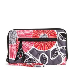Vera Bradley Zip Around Wallet - Cherry Blossoms at Amazon Women's Clothing store: