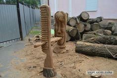 Любителям присесть на уши и почесать языкAlexandr Ivchenko. Russian sculptor. Chainsaw Carving.