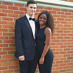 Gorgeous interracial couple dressed to the nines #love #wmbw #bwwm