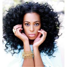 Solange Knowles Bids Farewell to Instagram found on Polyvore