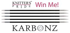 Knitters Pride blog: As seen on Knitter's Review: Karbonz Needles! #contest #giveaway #blog