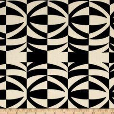 Amazon.com: Tiki-Tini Lounge Kimo Onyx Fabric By The YD: ** cool designed fabric **