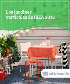 Los jardines verticales de IKEA 2018.  Si tu deseo es proporcionar a tu hogar un toque natural, verde y fresco, te ofrecemos algunas ideas sobre cómo decorar con los jardines verticales de IKEA 2018. #jardines #verticales #proporcionar #natural #ideas