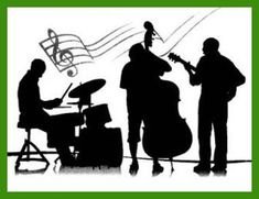 Jazz: from Big Band to Frank Sinatra, foremost the Airbrush, Wedding Recessional Songs, Rock Star Party, Music Illustration, Illustrations, Arts And Crafts House, First Dance Songs, Jazz Band, Jazz Musicians