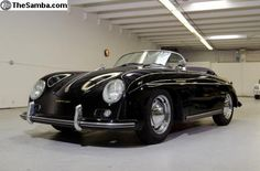 356 speedster.  My dream old car. I will have his one day