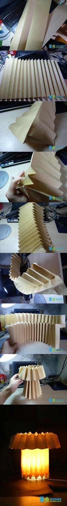{DIY Origami Paper Lantern}
